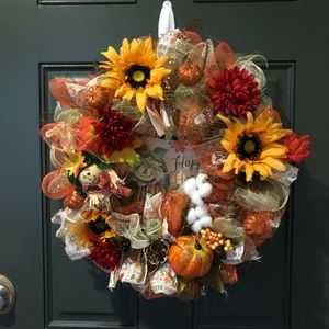 Fall Theme Wreaths